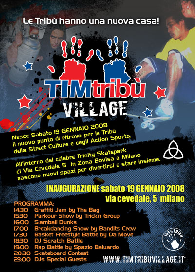 Tim tribù Village Opening